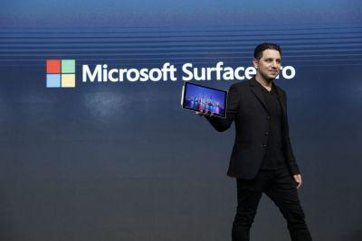 Watch Panos Panay launch Microsoft's new Surface Pro