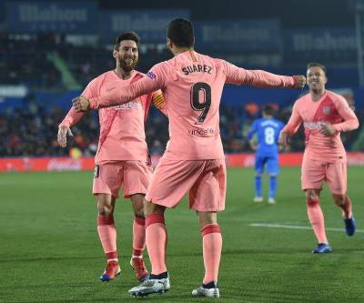 A party-popping Messi pass and a Suárez rocket that has to be seen to be believed, FC Barcelona starts its new year with a bang