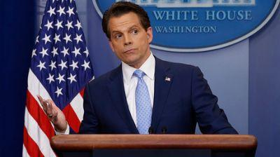 The fish stinks from head down, except for me & the president - Scaramucci