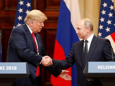Trump says he canceling a meeting with Putin because Russia is causing trouble in the Black Sea