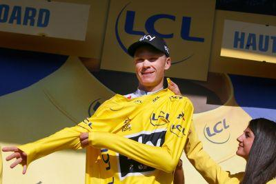 Froome into final stretch on Stage 19 of Tour de France