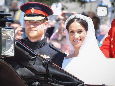 People Are ~Buzzing~ About a Bug That Flew Into Meghan Markle's Face During the Royal Wedding