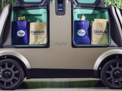 Kroger is testing a driverless grocery delivery service