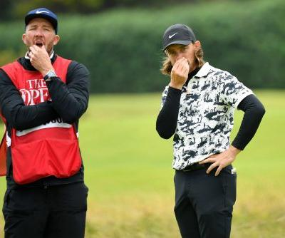 Tommy Fleetwood was taught a British Open lesson by Shane Lowry