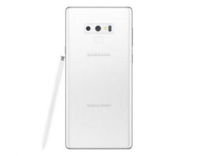 Galaxy Note 9 in White is coming to welcome winter