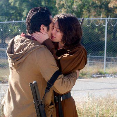Grab Some Tissues Before Reading Lauren Cohan's Latest Quote About Glenn and Maggie