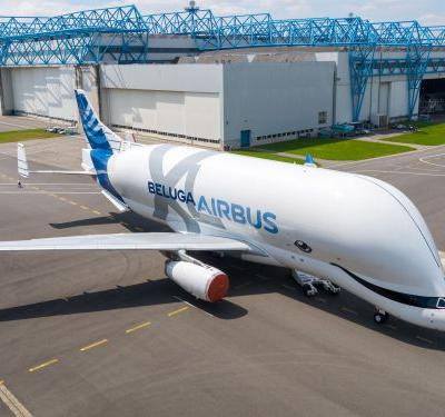 Airbus introduced a massive new cargo plane that looks like a whale and will play a key role in the company's future
