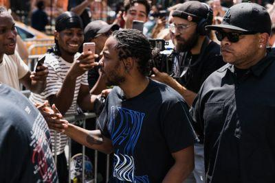 Here's A First Hand Look at Kendrick Lamar's 'DAMN.' Pop-Up Event In New York City