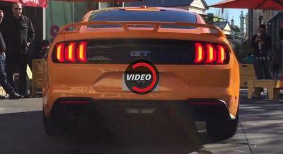 Here's What The 2018 Mustang GT With The New Active Valve Exhaust Sounds Like