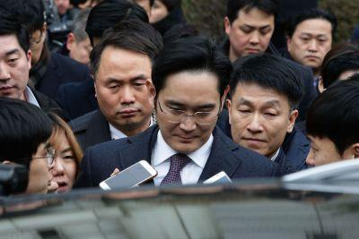 South Korea won't arrest Samsung heir on bribery charges