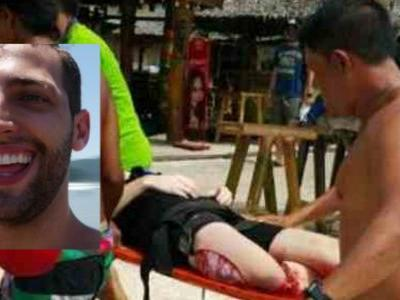 American Tourist Wearing Fake Shark Fin Harpooned 9 Times By Villagers In Thailand Is Fake News