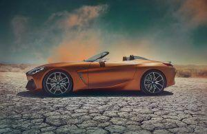 BMW Z4 Concept Leaks Before Pebble Beach Debut