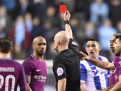 'That's football' - Cook on red card argument with Guardiola
