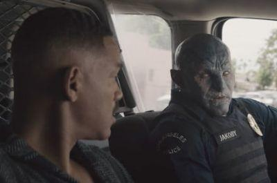 First full-length 'Bright' trailer debuts during Netflix panel at Comic-Con