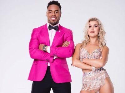 Dancing with the Stars: Rashad Jennings and Emma Slater Win Season 24 Mirrorball Trophy
