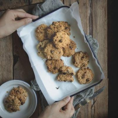 Chocolate Chips Oatmeal Cookies