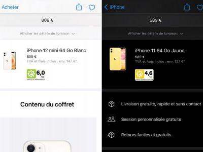 Apple begins showing repairability index for iPhones and Macs in France