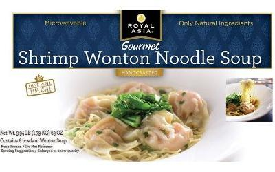 Allergic reaction prompts Royal Asia to recall soup from Costco