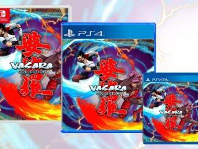 VASARA Collection Will Have a Physical PS4 and PS Vita Release