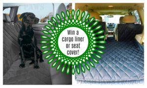 Win a Plush Paws Cargo Liner or Pet Seat Cover - $300 in Prizes!