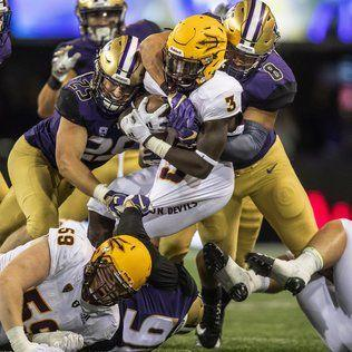 No. 10 UW Huskies defeat Arizona State behind three Jake Browning touchdown passes