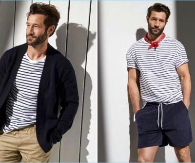 Sail Away: John Halls Sports Nautical Style for Simons