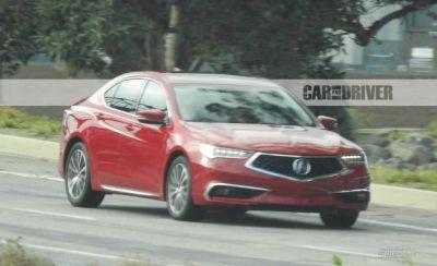 Facelifted 2018 Acura TLX Spied with New A-Spec Package