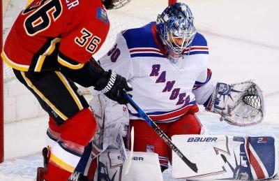 Flames can't solve Henrik Lundqvist in 3rd-straight defeat
