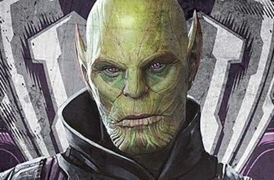 Captain Marvel Character Posters Show Off Goose and the Skrull