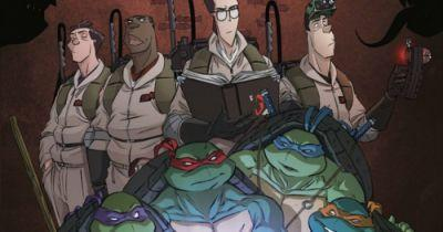 TMNT Meet Ghostbusters Comic Crossover Is Getting a SequelIDW