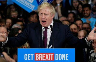 Exit polls suggest Johnson's Conservatives set to win majority in once-in-a-generation election