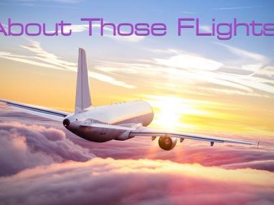 Sunday Musing: How Do We Make Up For All Those Flights?