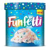 Funfetti Ice Cream Is Coming Soon, With Rainbow Sprinkles and a Cake Crunch Swirl