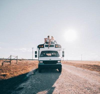The dreamy 'bus life' all over Instagram isn't actually as cheap as it sounds - here's exactly what it costs, according to a couple traveling the US in a converted school bus