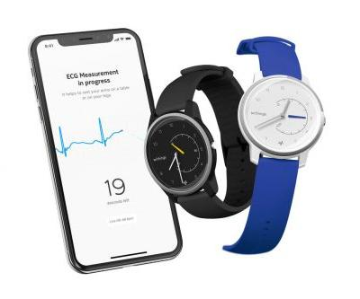 Withings' new smartwatch has an EKG sensor to compete with the Apple Watch