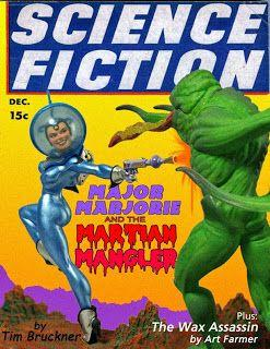 Tim Bruckner's Major Marjorie vs. the Martian Mangler!