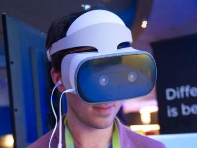 Lenovo Mirage Solo, the first standalone Daydream VR headset, is now on sale