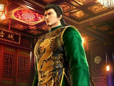 This is what Lan Di looks like in Shenmue III before you bash his face in