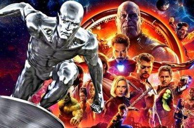 Did Marvel Sneak Silver Surfer Into Infinity War?A new listing