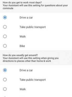 Google Assistant Can Give Directions Based On Your Method Of Commute