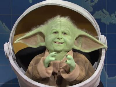 'Saturday Night Live' had a horrifying take on Baby Yoda that involved Kyle Mooney and an impressive makeup look