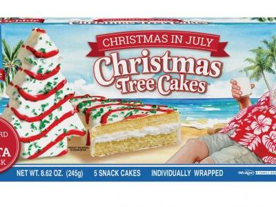 Sorry, Summer, but I'm Ready to Dive RIGHT in to These Christmas Tree Cakes - Yes, in July