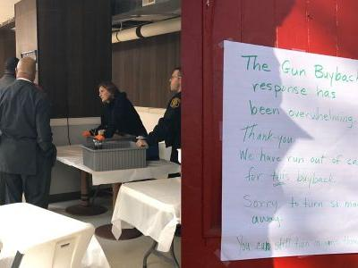 Gun buyback at Pittsburgh church receives big response, runs out of funds within first hour