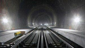 Huge railway tunnel network will connect through Alps