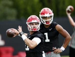 Fromm's debut season as Georgia's QB may be tough to top