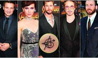 From the cast of Avengers to The Lord Of The Rings: Here are the celebs who got inked for work