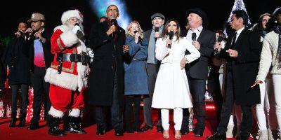 """Watch President Obama and Chance the Rapper Sing """"Jingle Bells"""""""