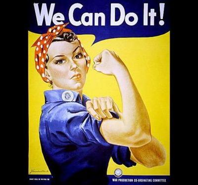 Naomi Parker Fraley, inspiration for 'Rosie the Riveter,' dies at 96