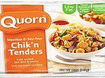 Quorn is just as good as building your muscles as meat