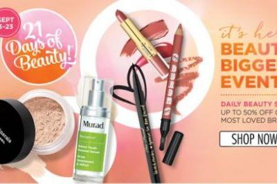 ULTA 21 Days of Beauty Preview + HOT BUYS + $3.50 Off Coupon